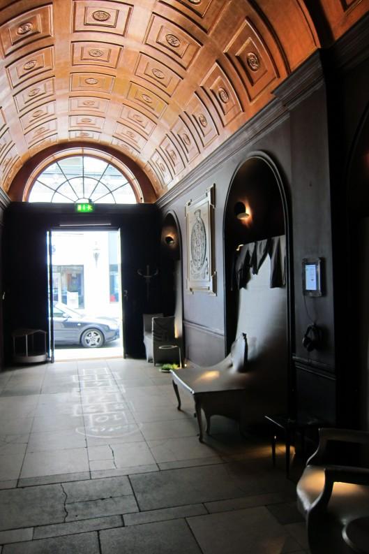 sketch entrance
