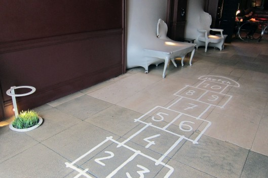 sketch hopscotch