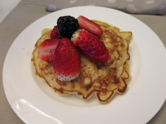 coconut pancakes 2