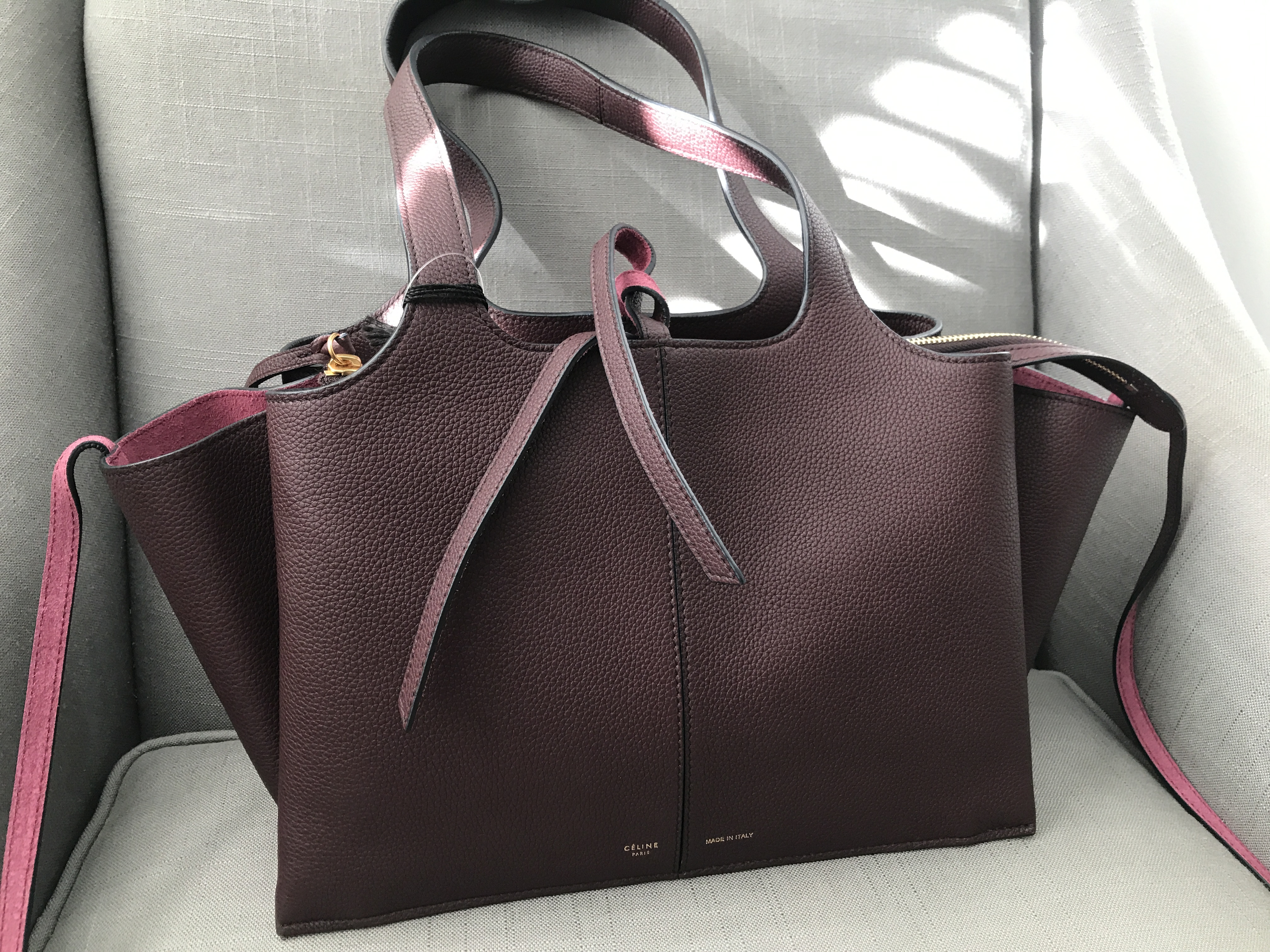d90554fab1 just in  celine trifold bag
